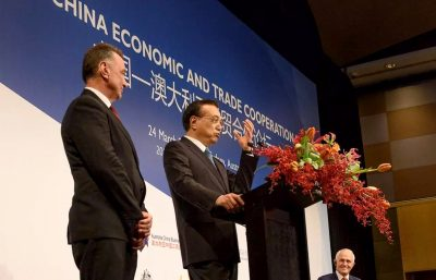 Premier Li Keqiang Visit Australia